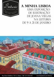 """""""A minha Lisboa"""": Lissabon mit den Augen und der Kunst von Joana Viegas. Copyright: Joana Viegas"""